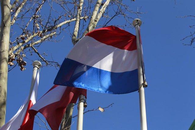 Archivo - Banderas, bandera de Francia