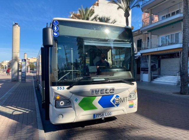 Los usuarios de autobús de Palma crecen un 32% y los de metro un 36,5% en agosto
