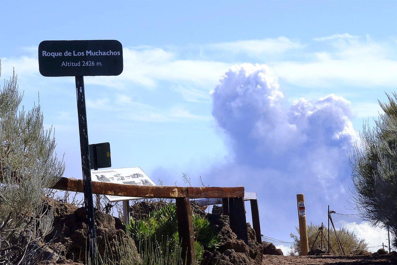 La Palma registra 20 terremotos durante la noche, uno de 3.9 sentido en casi toda la isla