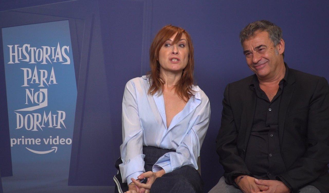 Nathalie Poza y Eduard Fernández presentan Historias para no dormir: