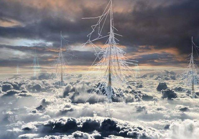 Las lluvias de rayos cósmicos en la atmósfera pueden ser importantes para la formación de nubes.
