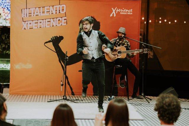 El bailaor David de Remedios, ganador de Talento Xperience Parque Rioja.