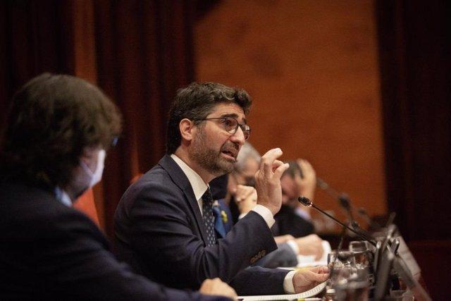 El vicepresident i conseller de Polítiques Digitals i Territori del Govern, Jordi Puigneró