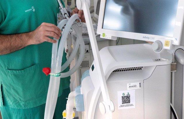 Archivo - El Hospital de Guadalajara pone en marcha un sistema de códigos QR.