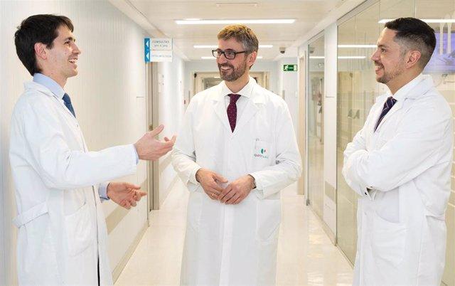 Archivo - Equipo de la Unidad de Hemodinámica y Cardiología Intervencionista del Hospital La Luz.
