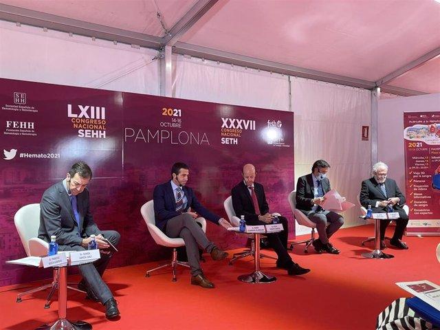 Los expertos citados a la presentación del LXIII Congreso Nacional SEHH.