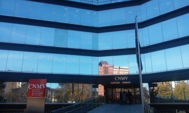 Archivo - Sede de la CNMV en Madrid