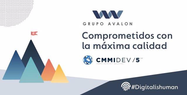 Grupo Avalon valorado en nivel 5 CMMI.