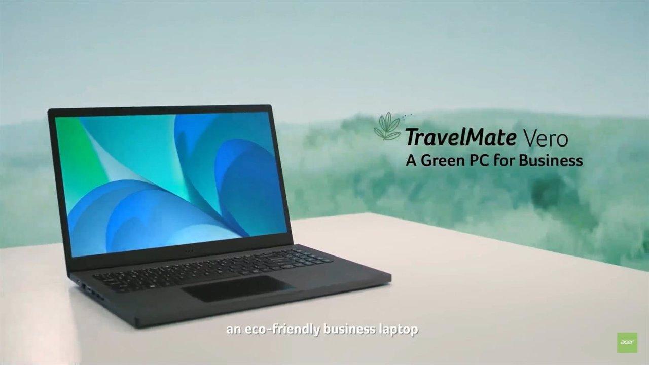 Acer convierte en familia sus dispositivos sostenibles Vero con los primeros modelos para empresas