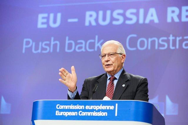 Archivo - El Alto Representante de la UE para Política Exterior, Josep Borrell.