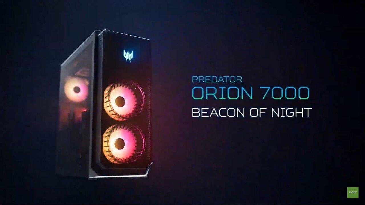 Acer se adelanta a la 12ª generación de Intel Core con su sobremesa gaming Orion 7000