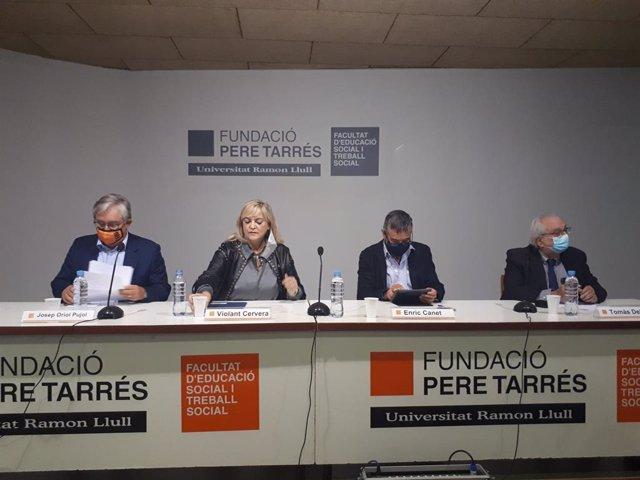 Violant Cervera manifesta que enfortir el tercer sector social és una prioritat per al Govern