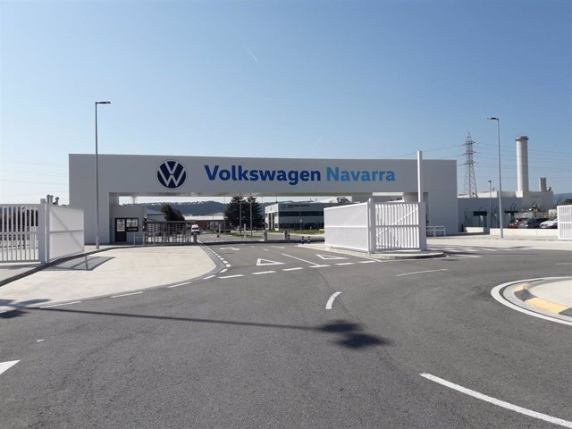 Archivo - Fábrica de Volkswagen Navarra.