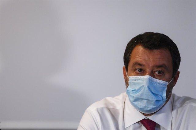 Archivo - Matteo Salvini, líder de la Liga