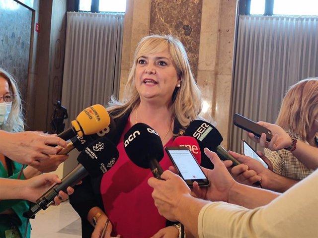 Arxiu - La consellera de Drets Socials de la Generalitat, Violant Cervera