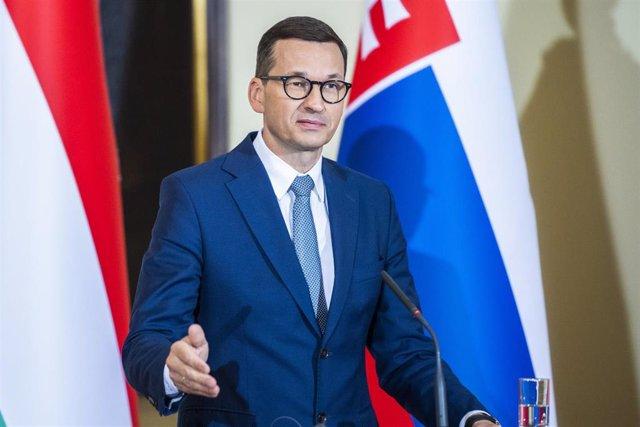 Archivo - El primer ministro de Polonia, Mateusz Morawiecki.
