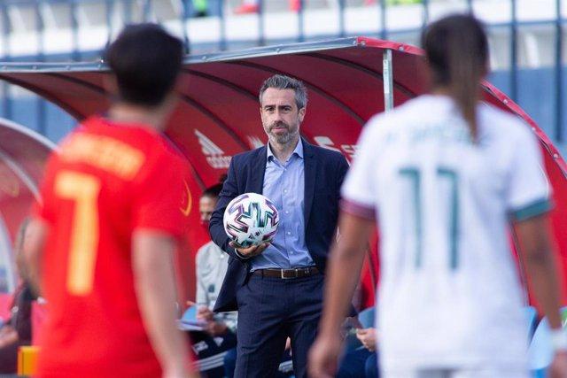 Archivo - El seleccionador nacional femenino de fútbol, Jorge Vilda.