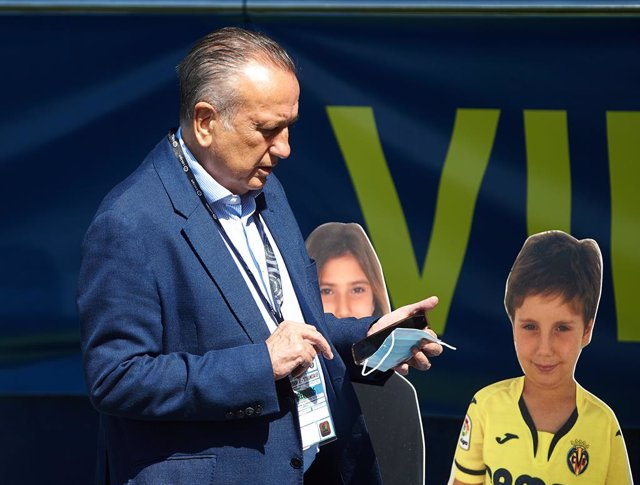 Archivo - Fernando Roig of Villarreal during the la La Liga Santander mach between Villarreal CF and Valencia at La Ceramica Stadium, on June 28, 2020 in Vila-real, Spain