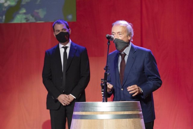 Miguel A. Torres, Premio a la Trayectoria Profesional en el Mundo del Vino.