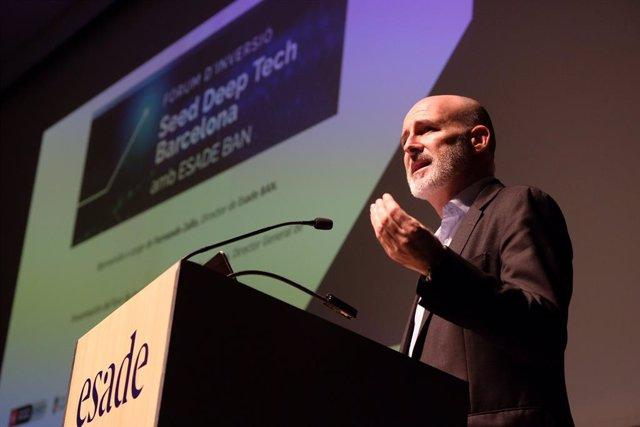 El director general de Barcelona Activa, Félix Ortega