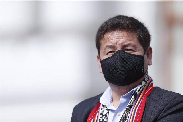 El exprimer ministro de Perú, Guido Bellido