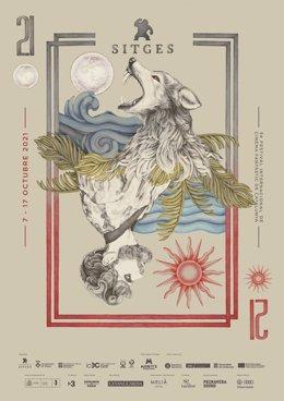 Cartell del Festival de Sitges 2021
