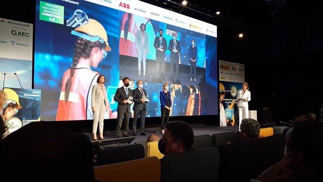 Archivo - Celsa recibe el III Premio Nacional Industria Conectada 4.0 del Gobierno