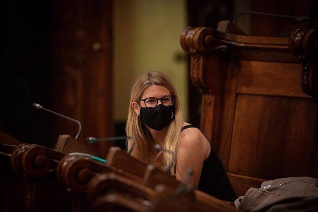 Archivo - Arxivo - La portaveu de Junts a l'Ajuntament de Barcelona, Elsa Artadi (Arxiu)