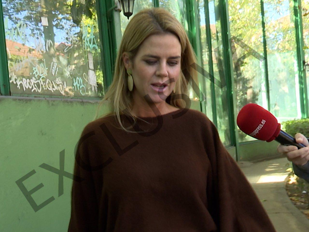Primeras palabras de Amelia Bono tras salir a la luz su relación con Fernando Ligués
