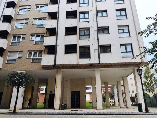 Archivo - Imagen de archivo de viviendas en Oviedo, pisos, compraventa, alquiler.