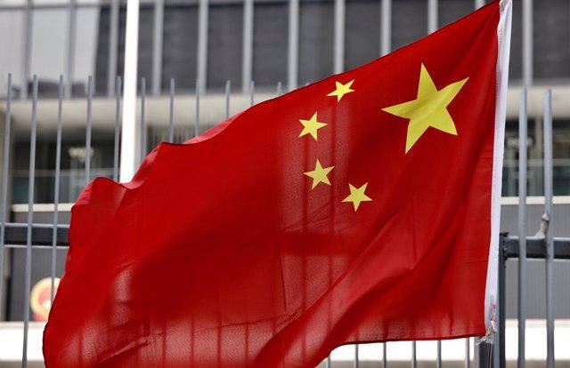 Archivo - Bandera de China