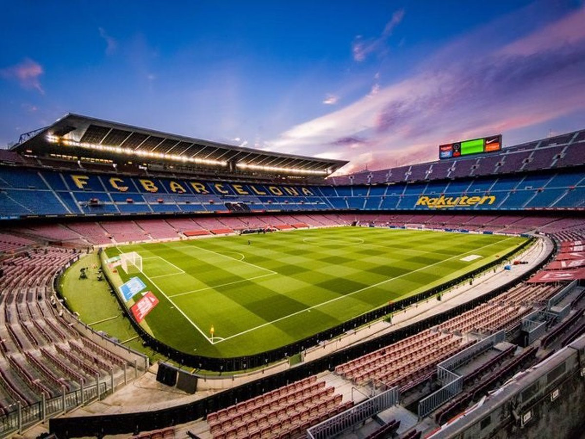The Camp Nou hosted 21 matches at risk for the fans