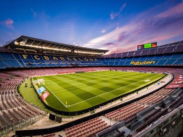 Archivo - El Camp Nou, estadio del FC Barcelona