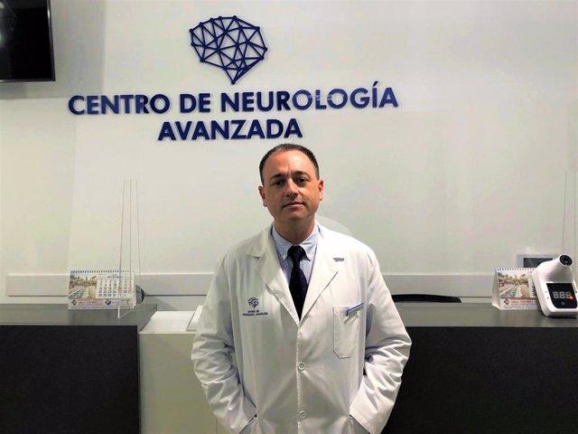 El neurocirujano del Centro de Neurología Avanzada (CNA), Andrés Muñoz.