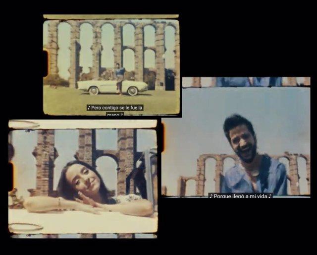 Grabación de videoclip de Camilo en Mérida