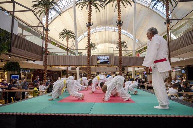 Exhibición de judo en los X-Games