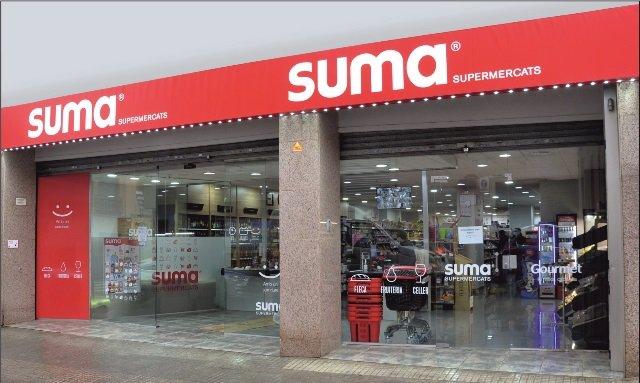Supermercat Suma franquiciat de la companyia GM Food