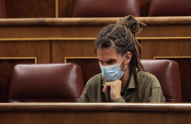 L'exsecretari d'Organització i diputat d'Unides Podem Alberto Rodríguez