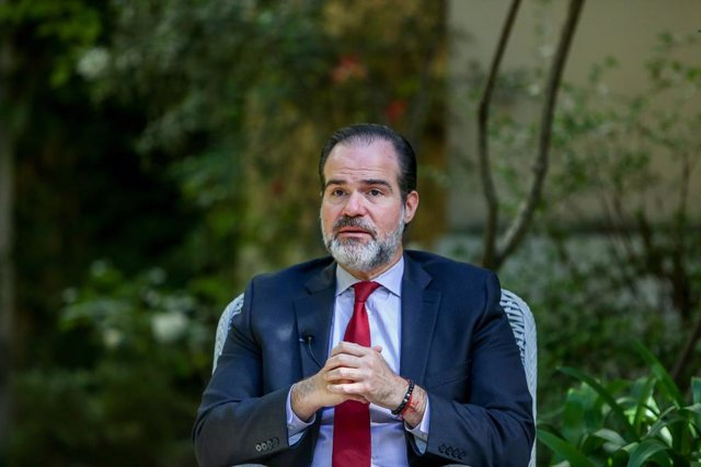 Archivo - El presidente del BID, Mauricio Claver-Carone