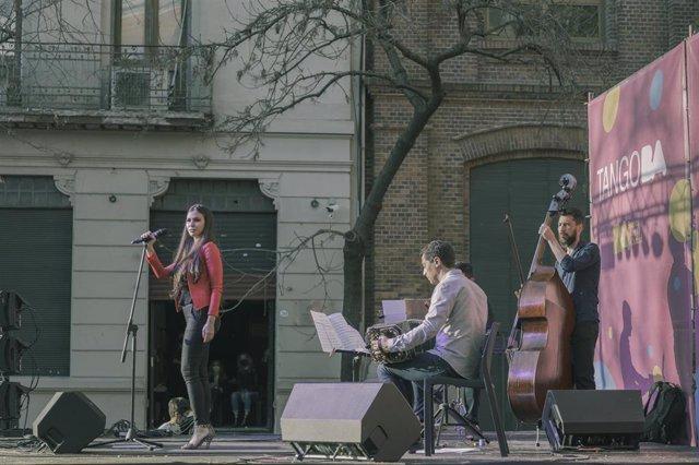 Festival de música en Buenos Aires