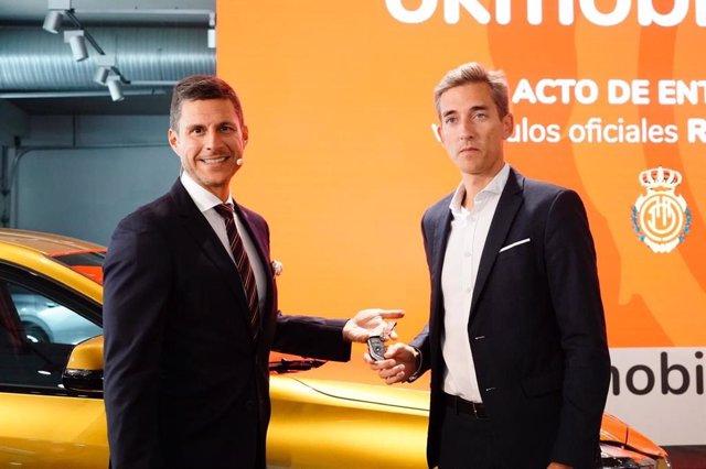 Othman Ktiri, CEO OK Mobility y Alfonso Díaz, CEO de Negocio RCD