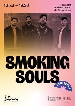 Cartell de l'actuació de Smoking Souls
