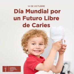 Cartel promocional del Día Mundial por un Futuro Libre de Caries