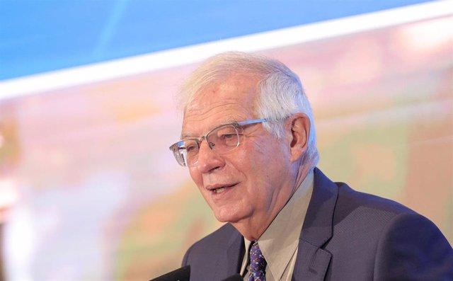 El alto representante de la UE para Asuntos Exteriores, Josep Borrell