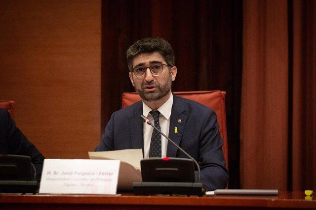 Arxiu - El vicepresident i conseller de Polítiques Digitals i Territori de la Generalitat, Jordi Puigneró