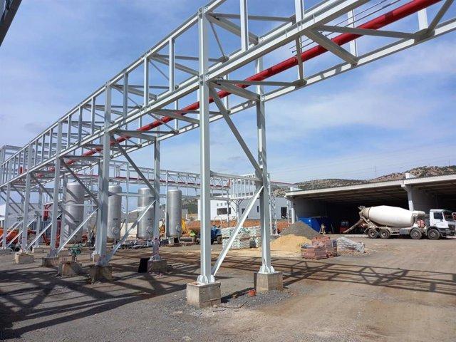 Construcción de la nueva planta de bioaceite renovable