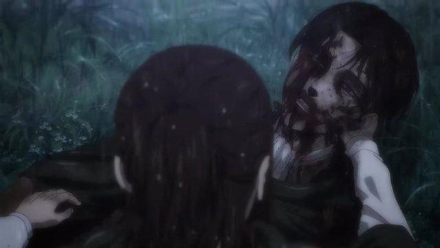 Levi en el tráiler de Attack on Titan
