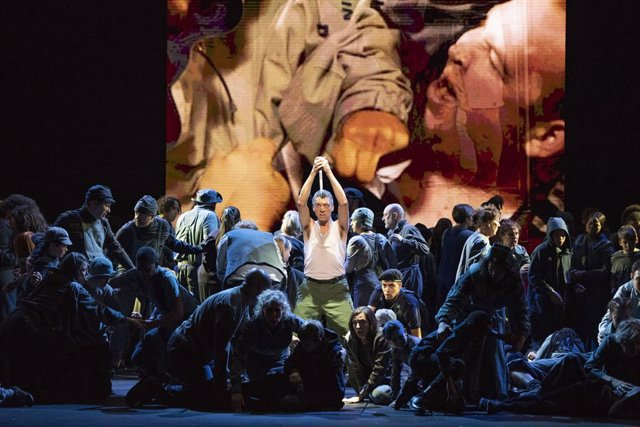 Archivo - Arxiu - Òpera 'War Requiem' de Benjamin Britten