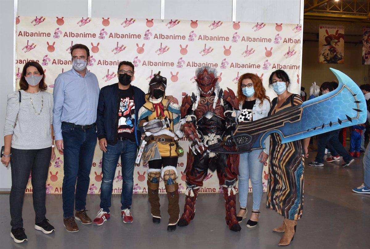 Albanime 2021  llena de manga, anime y ocio alternativo las instalaciones de la IFAB