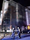 Desalojadas 30 personas de un edificio de Santoña por un incendio en un local comercial